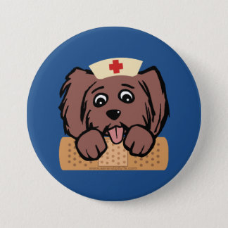 Nurse Pup Button
