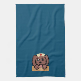 Nurse Pup Hand Towels