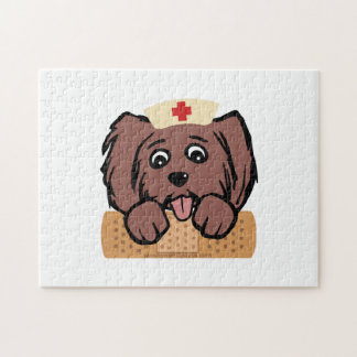 Nurse Pup Jigsaw Puzzle