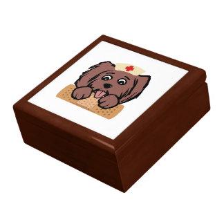 Nurse Pup Keepsake Box