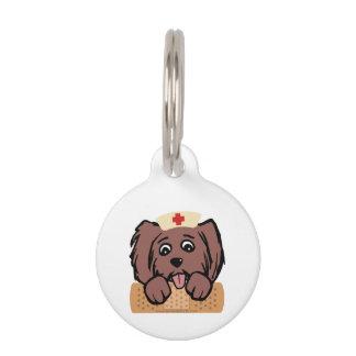 Nurse Pup Pet ID Tag