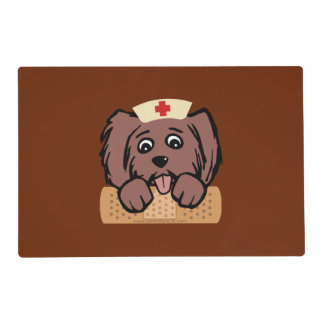 Nurse Pup Placemat