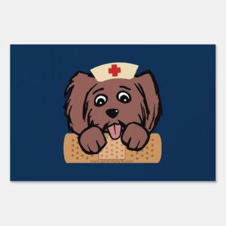 Nurse Pup Sign