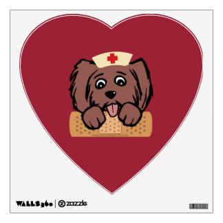 Nurse Pup Wall Decal