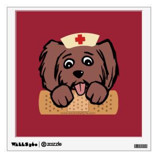 Nurse Pup Wall Sticker