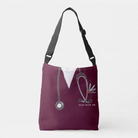nurse purse crossbody bag