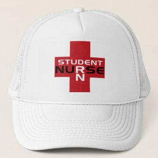 NURSE RED RN STUDENT HAT