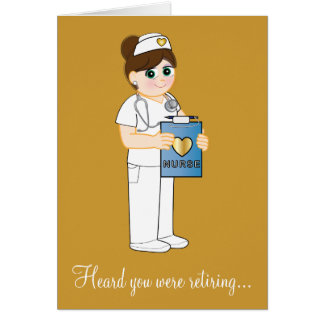 Nurse Retirement Card