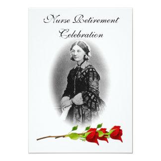 Nurse Retirement Celebration-Florence Nightingale Card