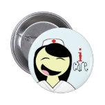 Nurse RN LVN Care Button