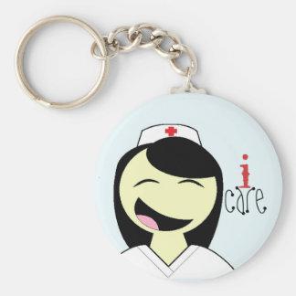 Nurse RN LVN care keychain