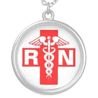 Nurse RN or Initials Necklace