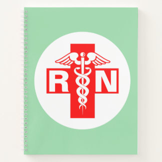 Nurse RN or Initials Notebook