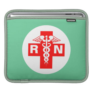 Nurse RN or Initials Sleeves For iPads