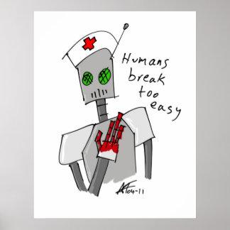 Nurse Robot Poster
