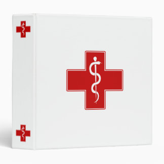 Nurse Rod of Asclepius Binder