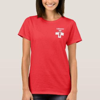 Nurse Rod of Asclepius Caduceus T-Shirt