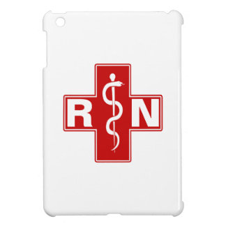 Nurse Rod of Asclepius iPad Mini Cases