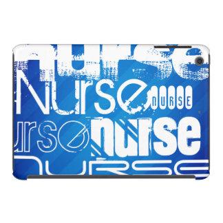 Nurse; Royal Blue Stripes iPad Mini Retina Cases