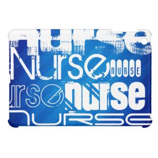 Nurse; Royal Blue Stripes iPad Mini Case