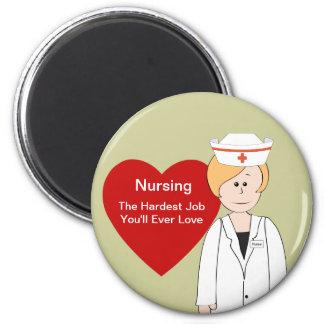 Nurse Saying Magnet