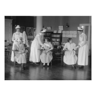 Nurse School, early 1900s Poster