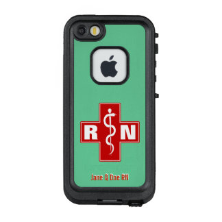 Nurse Scrubs Green LifeProof FRĒ iPhone SE/5/5s Case
