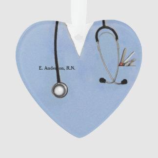 nurse scrubs ornament