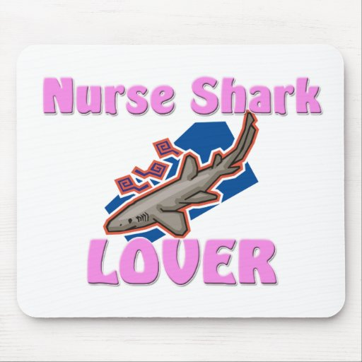 Nurse Shark Lover Mouse Pad