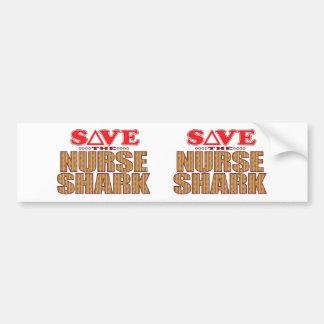 Nurse Shark Save Bumper Sticker