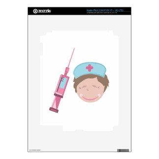 Nurse & Shot iPad 3 Skins