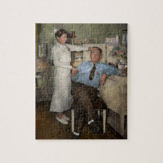 Nurse - Sick Day - 1937 Jigsaw Puzzle