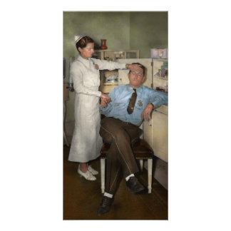 Nurse - Sick Day - 1937 Photo Card