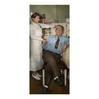 Nurse - Sick Day - 1937 Rack Card Template