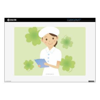 """Nurse 15"""" Laptop Decal"""