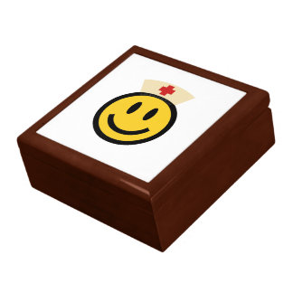 Nurse Smiley Keepsake Box