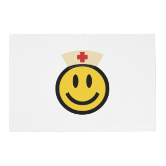 Nurse Smiley Placemat