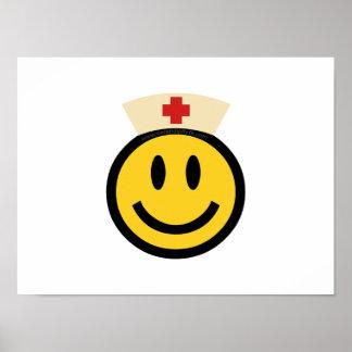 Nurse Smiley Poster