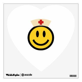 Nurse Smiley Wall Sticker
