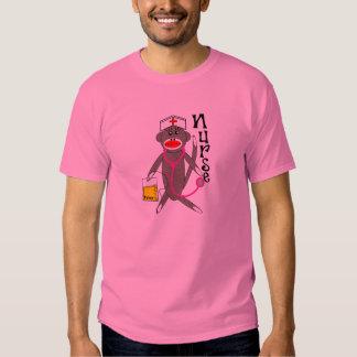 Nurse Sock Monkey T-Shirt