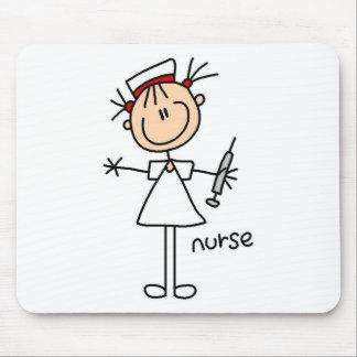 Nurse Stick Figure Mousepad