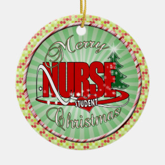 NURSE STUDENT CHRISTMAS CHRISTMAS TREE ORNAMENTS
