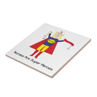 Nurse Super Hero (Blonde) tile