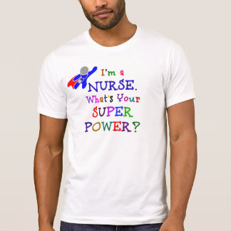 Nurse Superhero T-Shirt