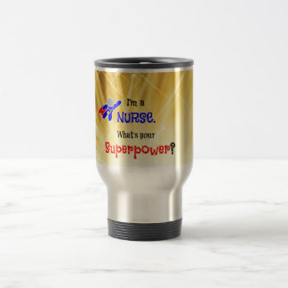 Nurse Superhero Travel Mug