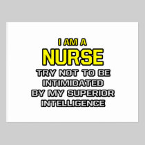 Nurse...Superior Intelligence Post Cards