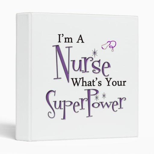 Nurse Superpower Binder
