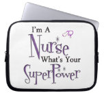 Nurse Superpower Computer Sleeve