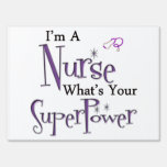 Nurse Superpower Signs