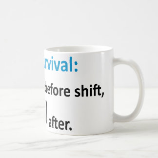 Nurse Survival Coffee Mug